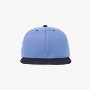 Boné aba reta azul claro e azul marinho Two color-Frente