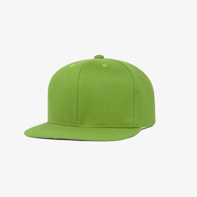 Boné aba reta em sarja verde oliva - Perfil