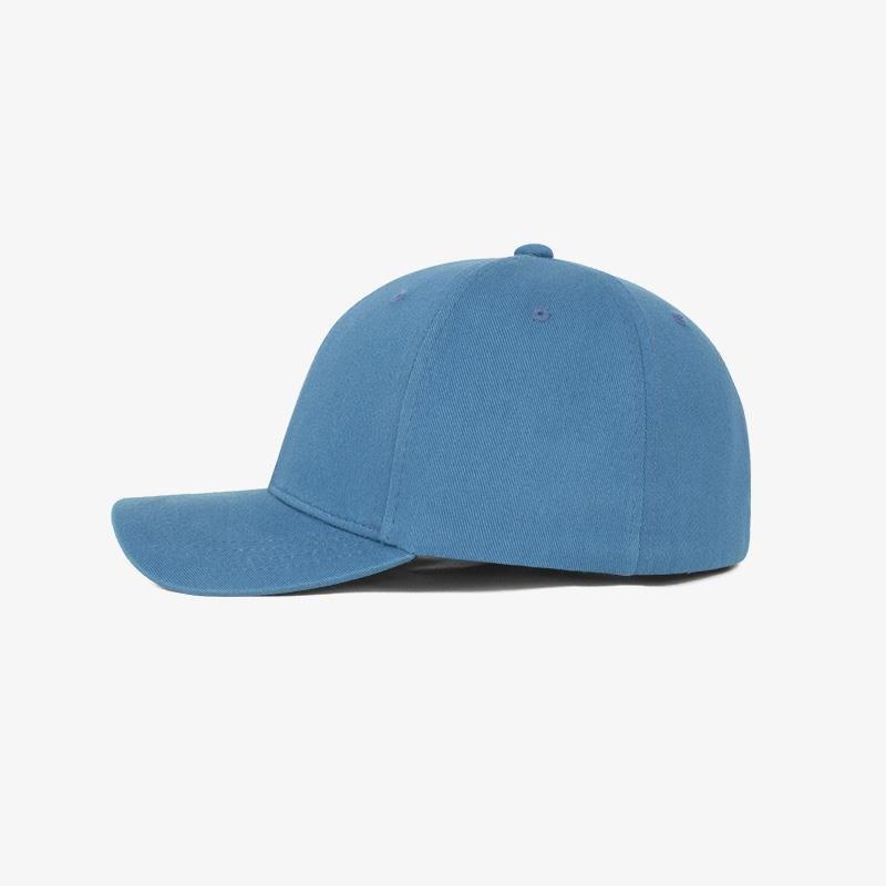 Boné flex fechado em brim azul 5022 - Lateral