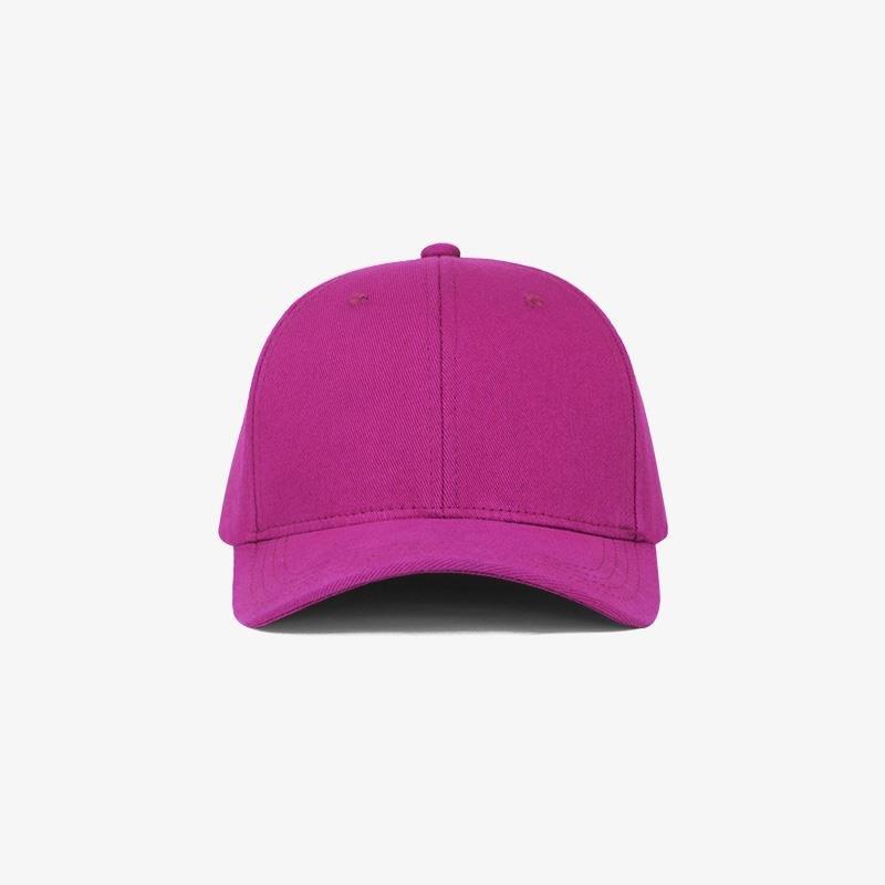 Boné flex fechado em brim pink 0340 - Frente