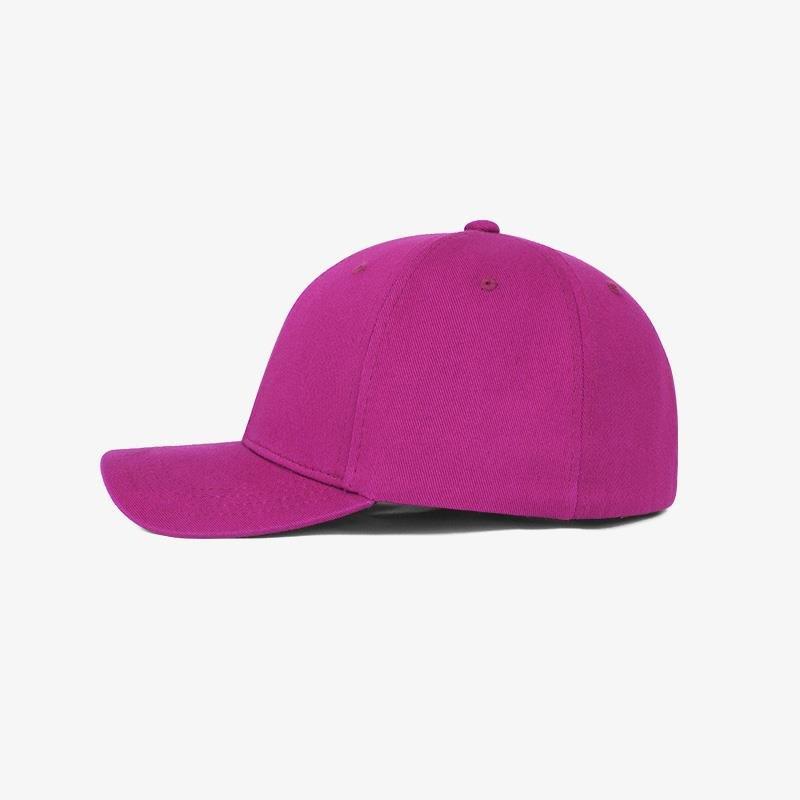 Boné flex fechado em brim pink 0340 - Lateral