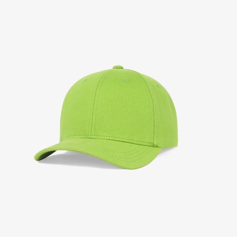 Boné flex fechado em brim verde 6027 - Perfil