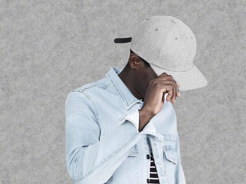 Banner boné dad hat - Imagem